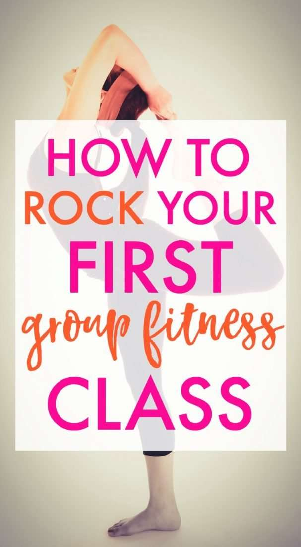 How to rock your first group fitness class!