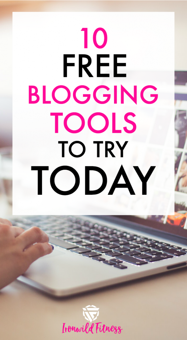 Free blogging tools to try. Free trials or completely free services that will help you with branding, gaining traffic, graphics, and more.
