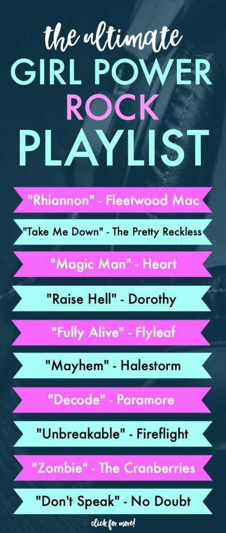 girl power workout playlist