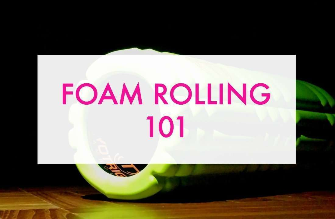 Foam rolling tips and techniques.