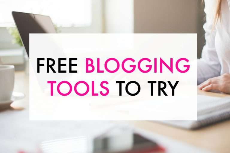 10 Free Blogging Tools to Try Today