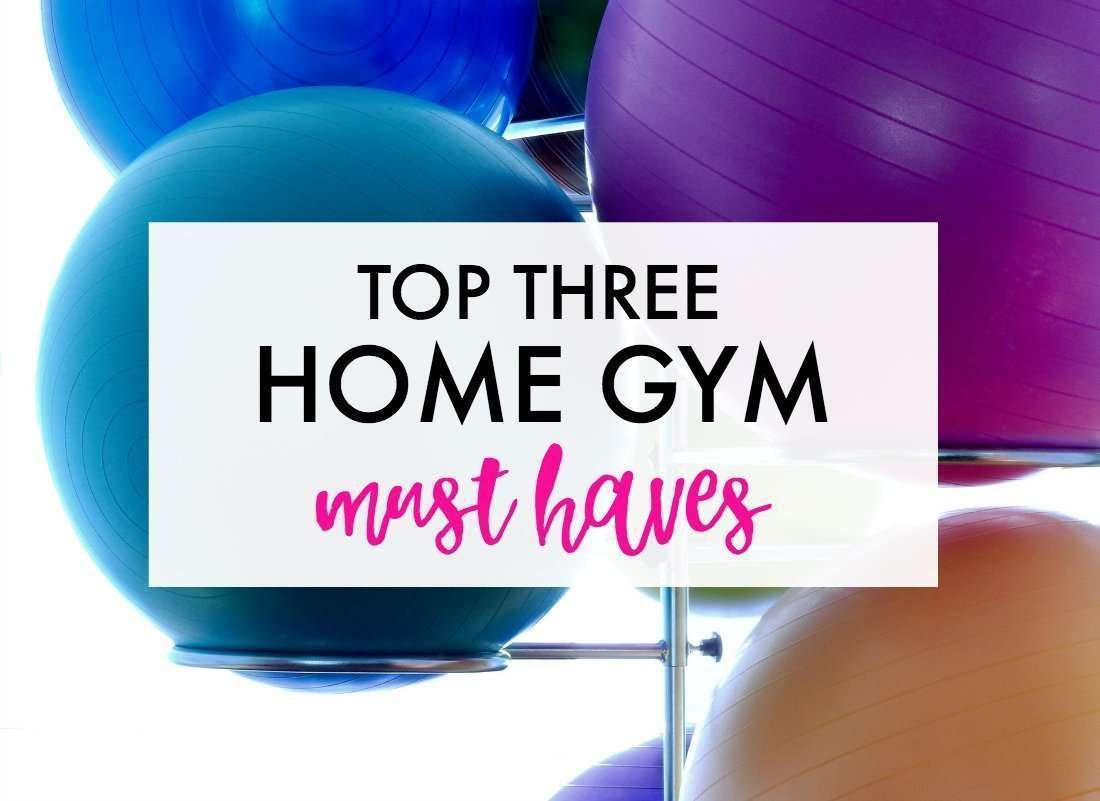 Top home gym essentials.