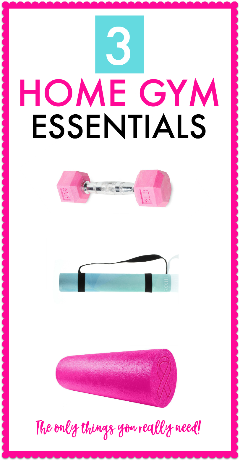 What essentials do you need for your home gym? Find out here.
