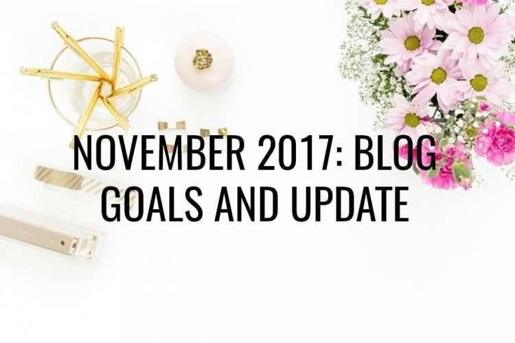 November 2017 blog update