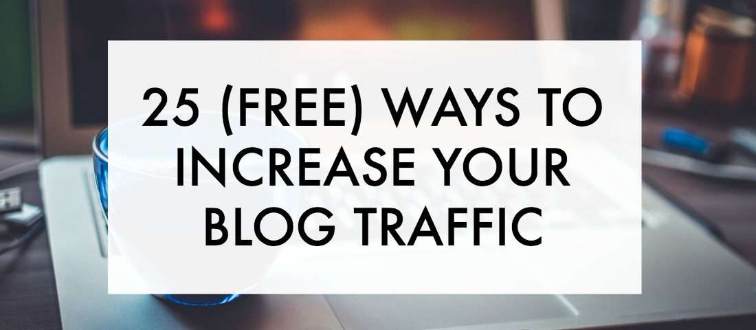 Need to increase your blog traffic? get more pageviews