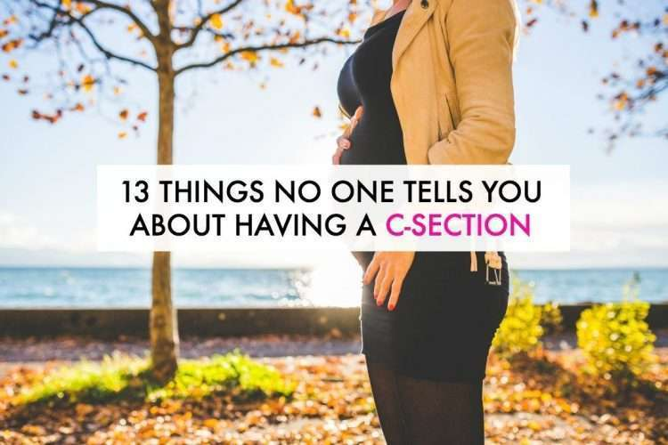 13 Things No One Tells You About Having a C-Section - Ironwild Fitness