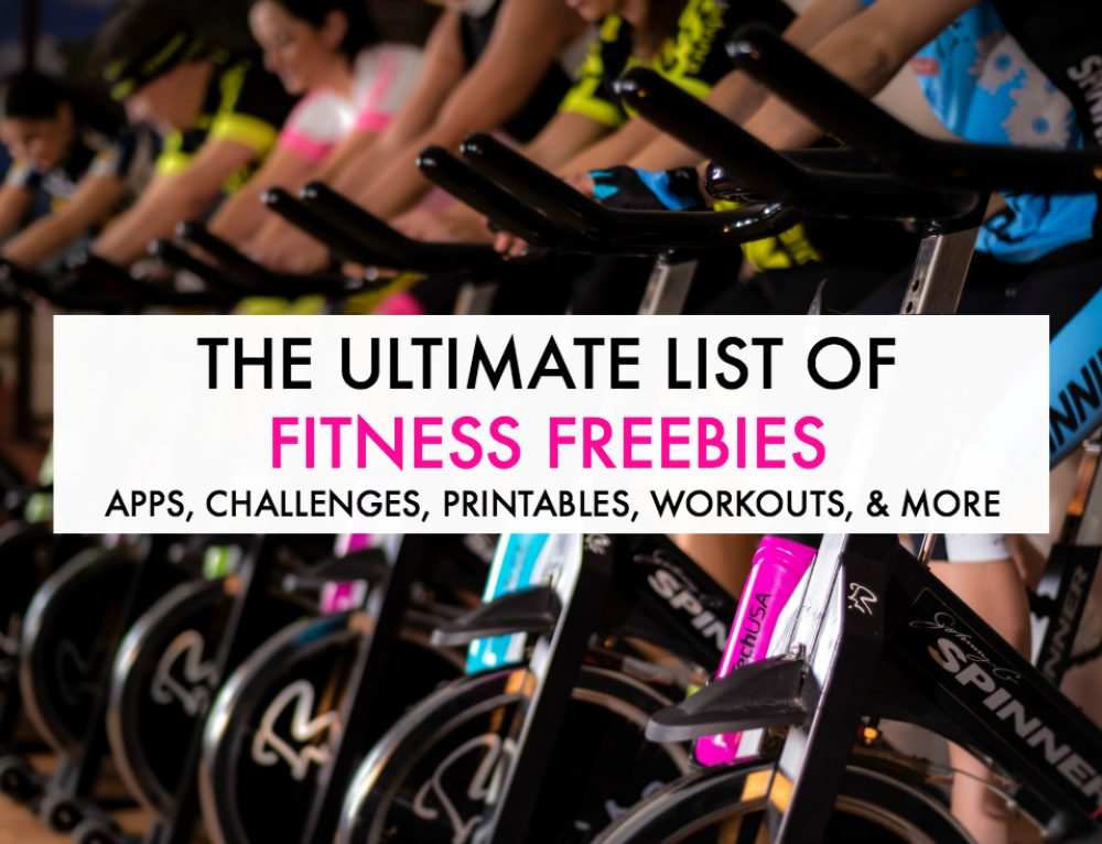 The Ultimate List of Fitness Freebies