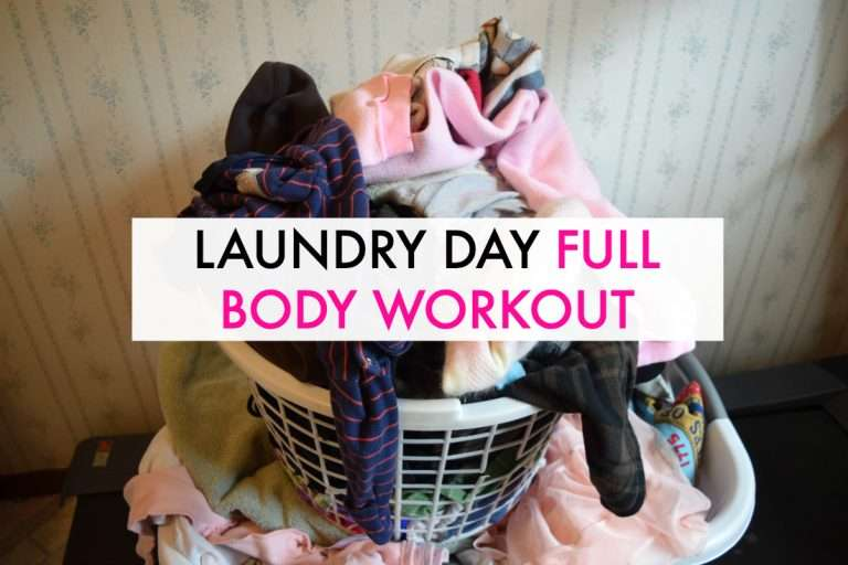 Laundry Day Full Body Workout For Beginners