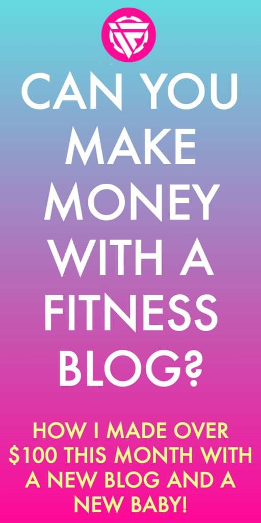 Can you make money with a fitness blog? In this post I share my income report for my new blog, how to start your own blog for money, and more.