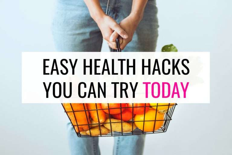 Health Hacks So Easy You Can Try Them Today