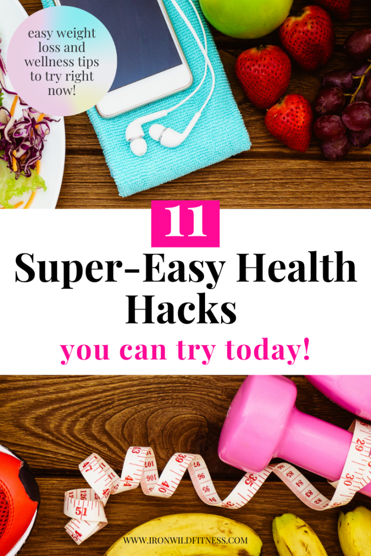 easy health hacks you can try today for weight loss