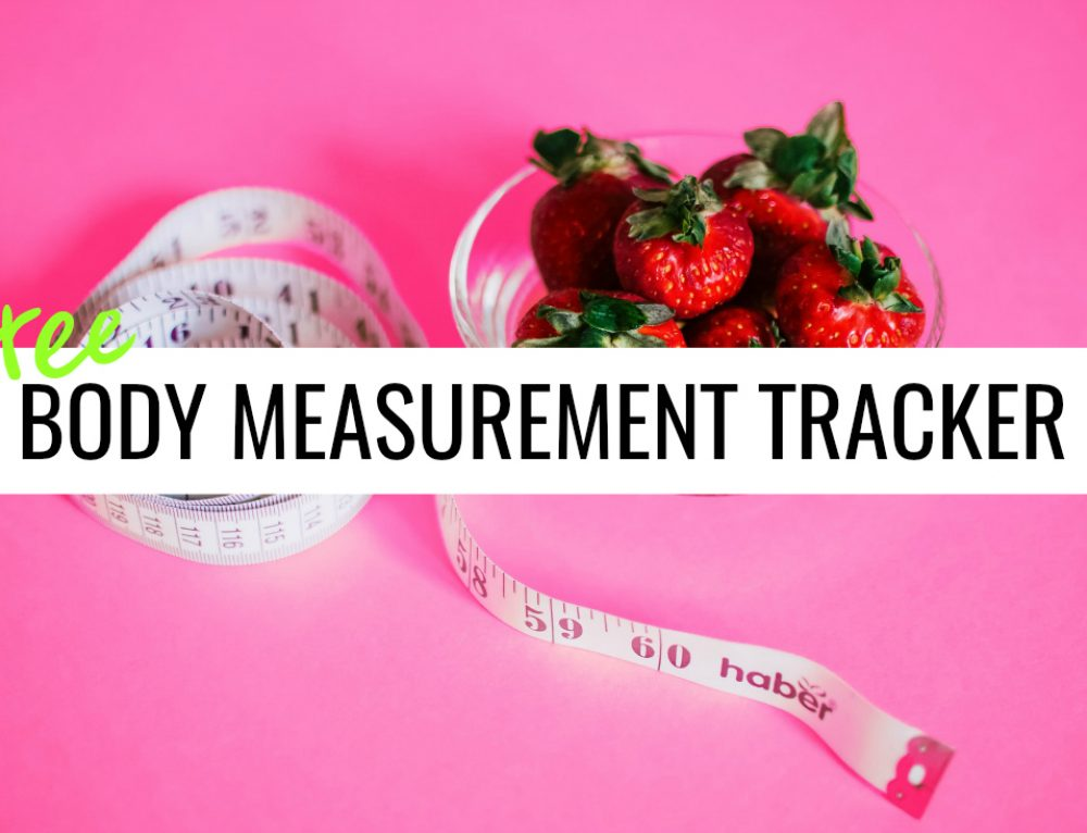 Free Body Measurement Tracker