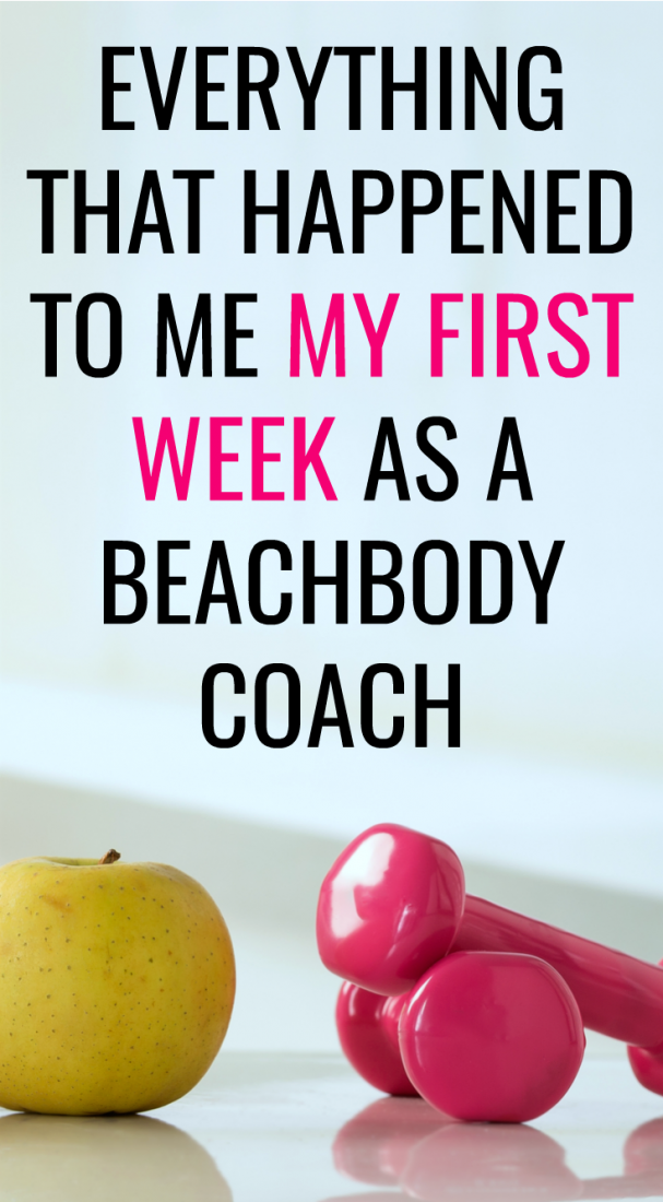 Here's what happened in my first week as a Beachbody coach.