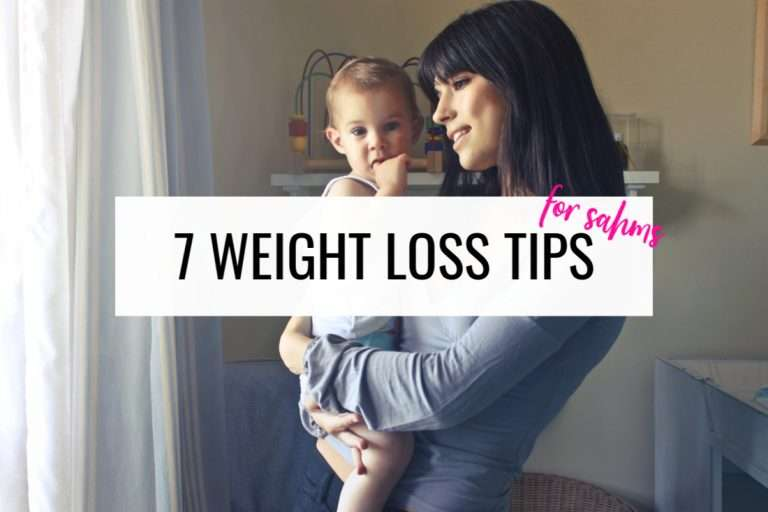 7 Weight Loss Tips For Stay At Home Moms