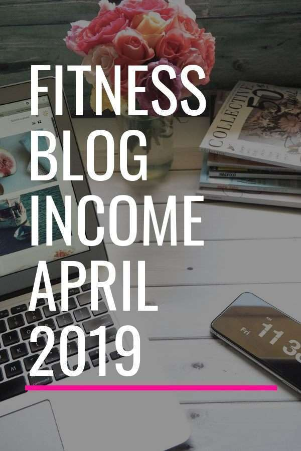 What kinds of blogs make money? I share my fitness blog income report to show you.