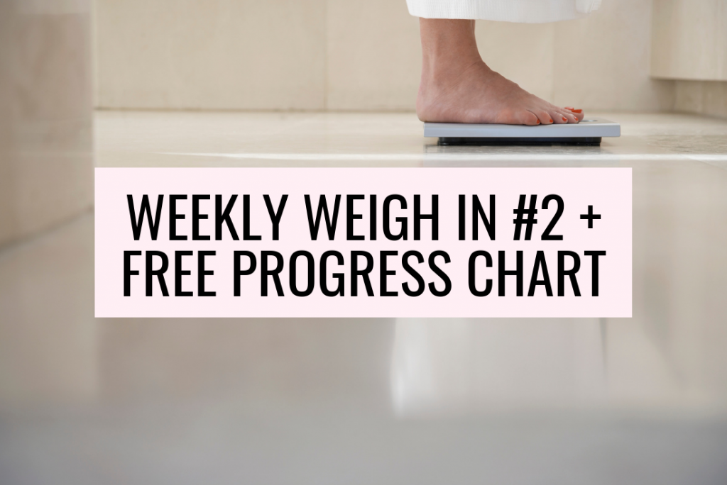 Free Printable Weekly Weight Loss Tracker Ironwild Fitness