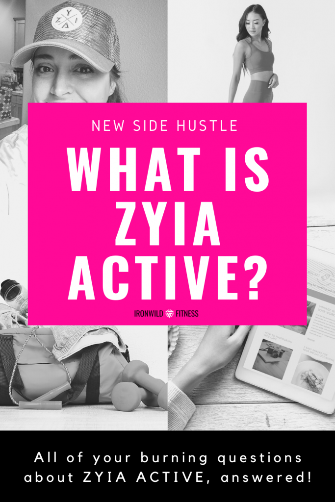 Read all about ZYIA activewear and what it's like to be a ZYIA active rep.
