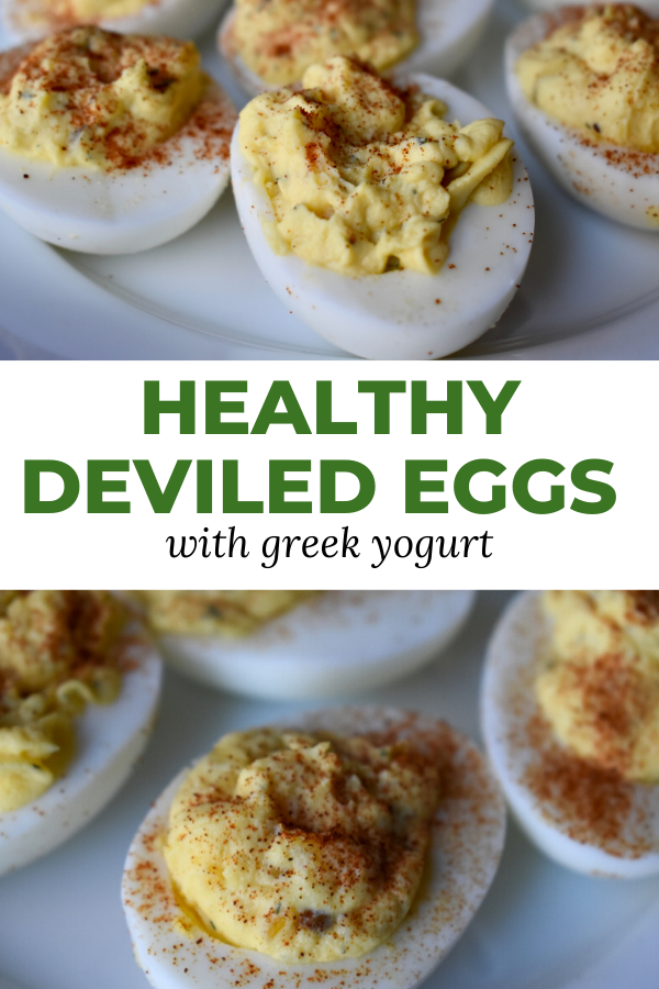 Finally, a healthy, no mayo deviled eggs recipe. If you're clean eating like me, you'll want to try this skinny deviled eggs recipe. This greek yogurt deviled eggs recipe is the perfect lightened up deviled eggs recipe to rival the classics.