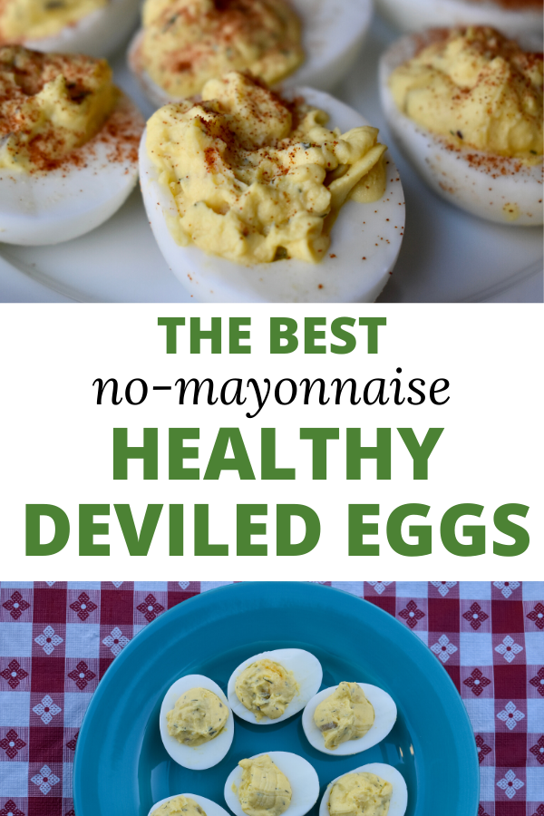 healthy greek yogurt deviled eggs