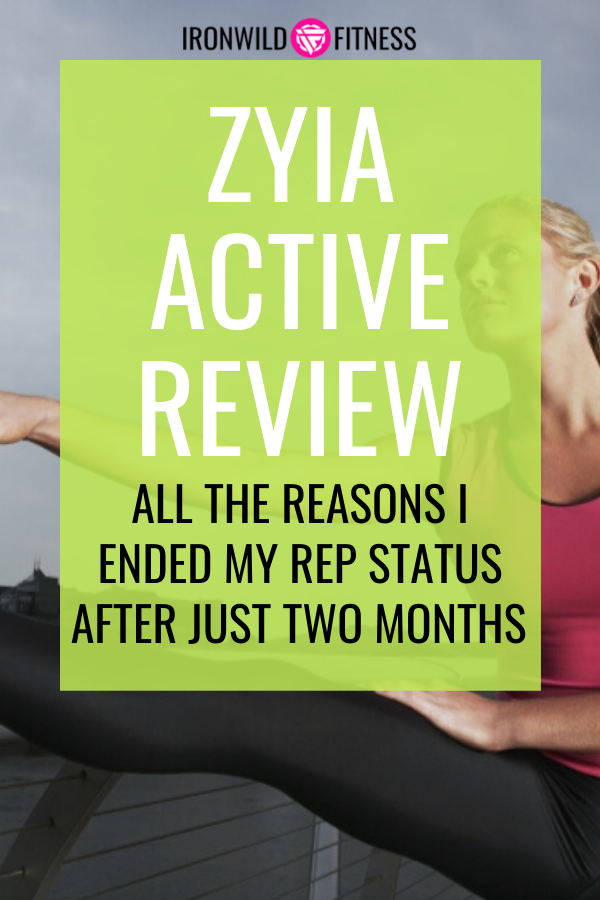 learn the truth about ZYIA with my ZYIA active review