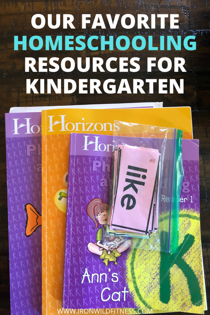 Favorite Homeschooling Resources For Kindergarten
