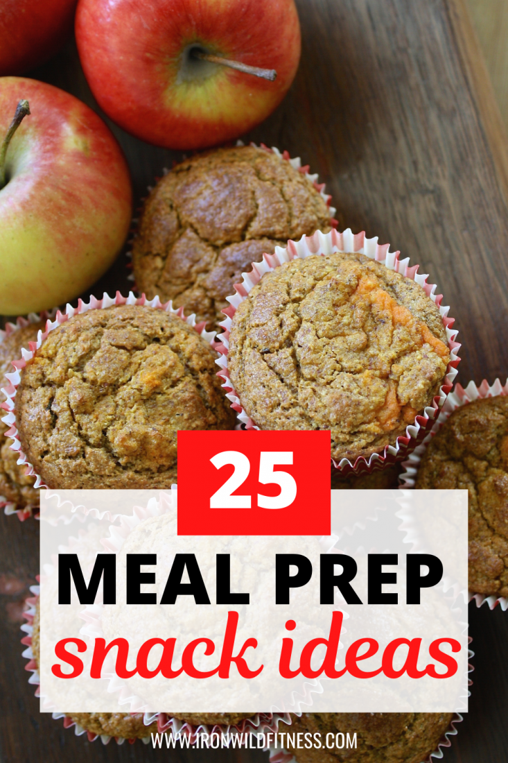 Easy, healthy meal prep snack ideas