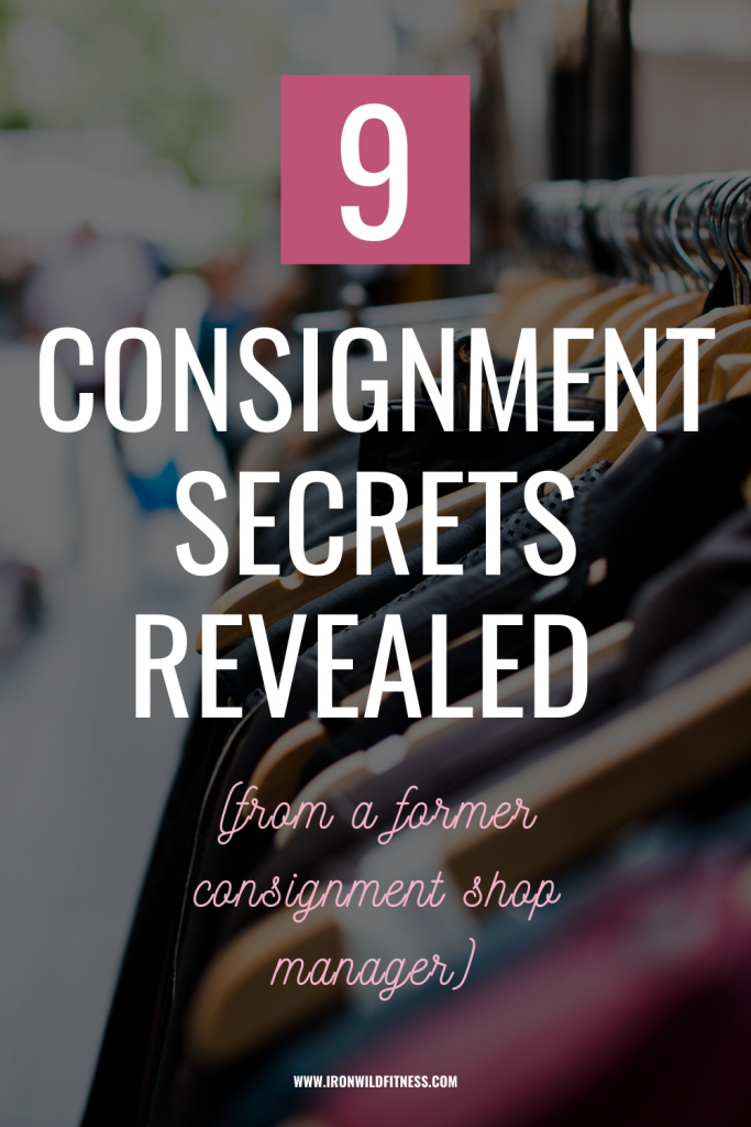 consignment tips revealed