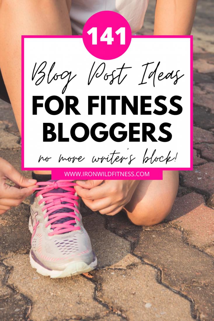 health and wellness blog ideas