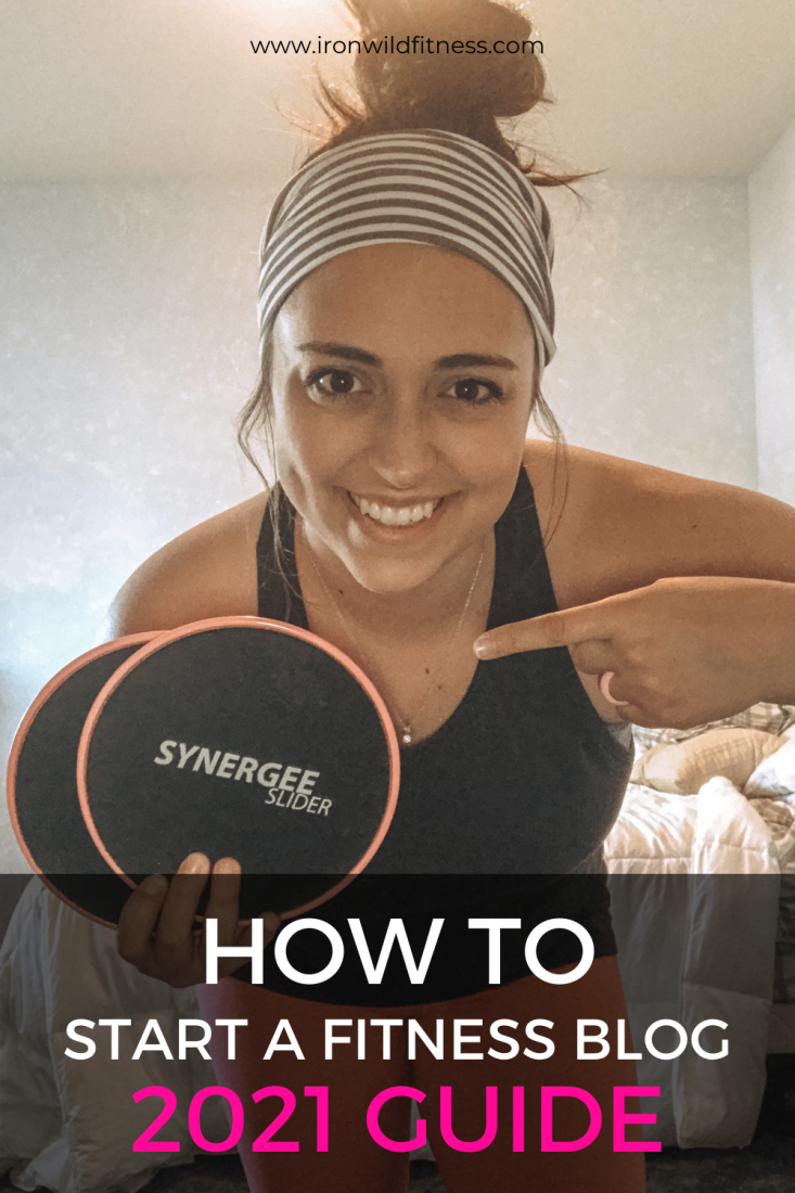 how to start a fitness blog 2021 guide