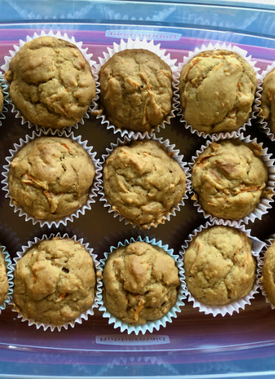 vegan carrot muffins recipe easy