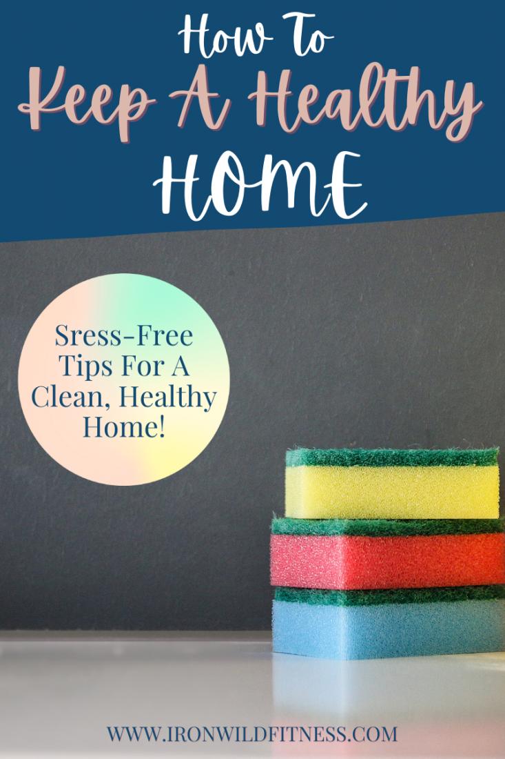 Healthy housekeeping tips