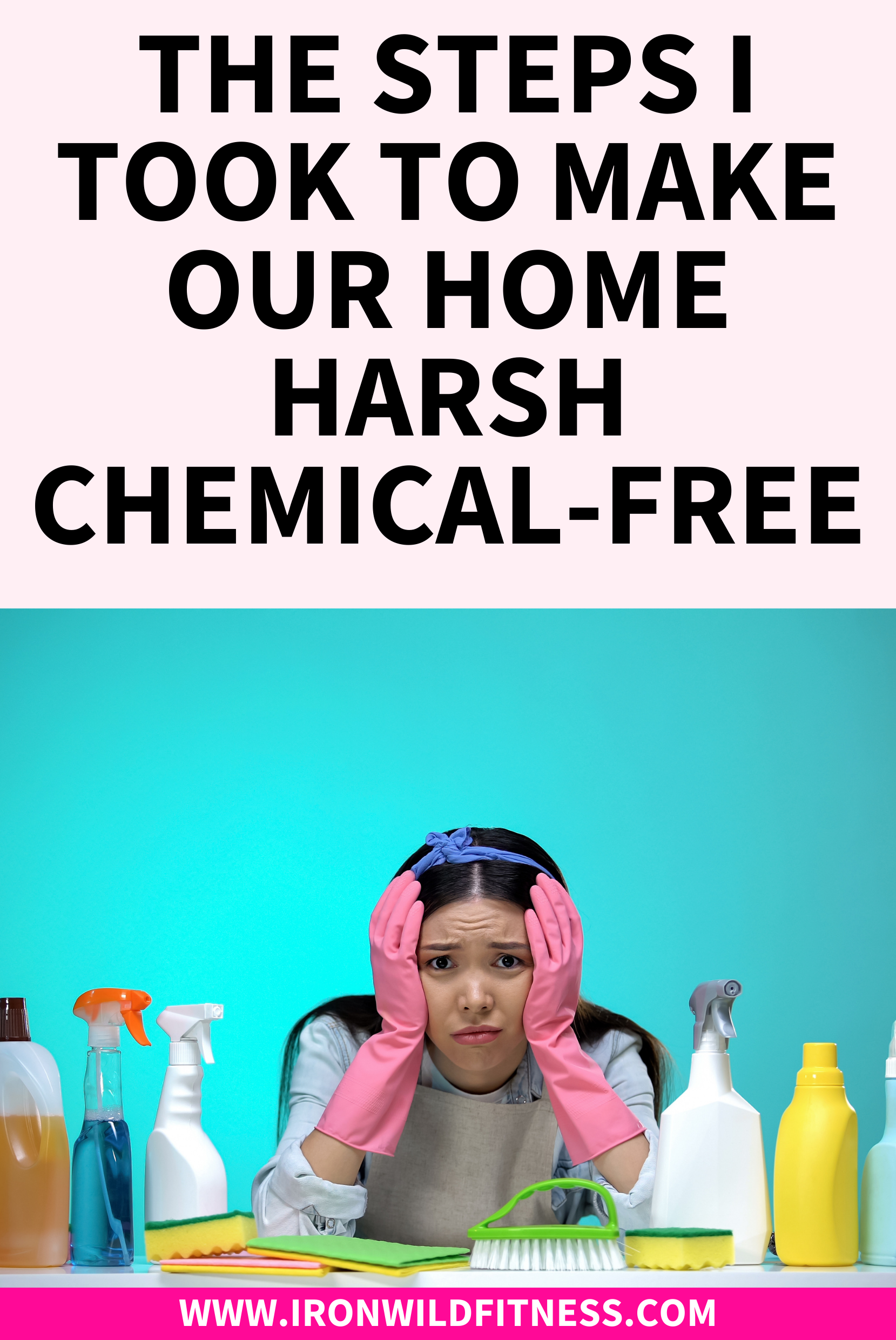 Easy Steps To A Chemical Free Home