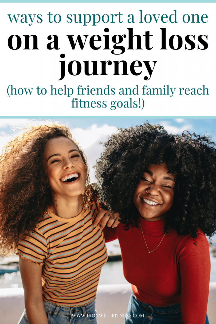 ways to support someone who's trying to lose weight help them