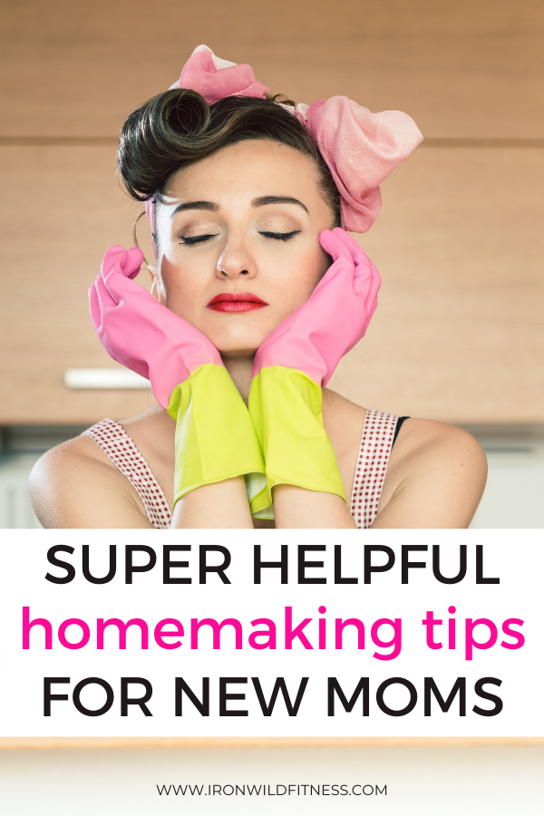 homemaking tips for new moms