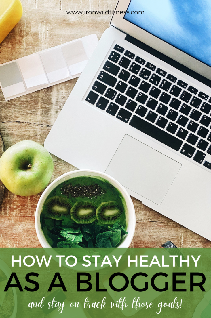 stay on track - how to stay healthy as a blogger