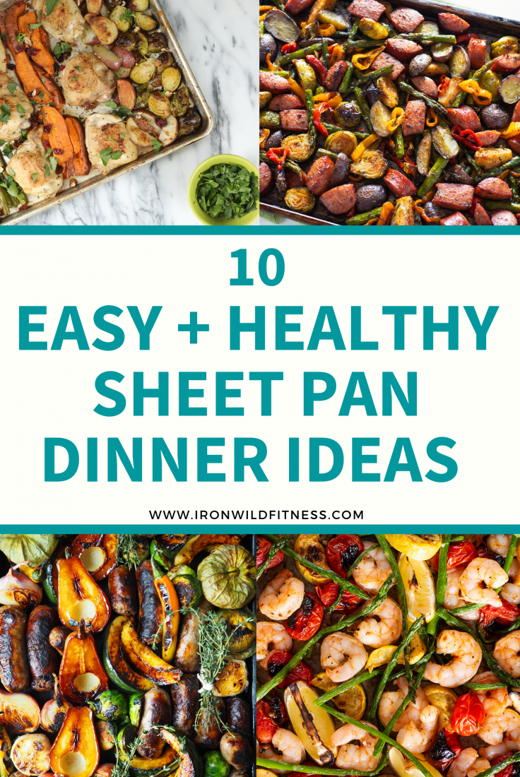 Easy and healthy sheet pan dinner ideas