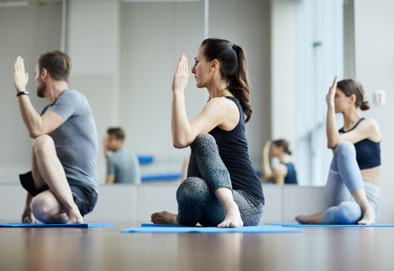 easy yoga poses for better sleep
