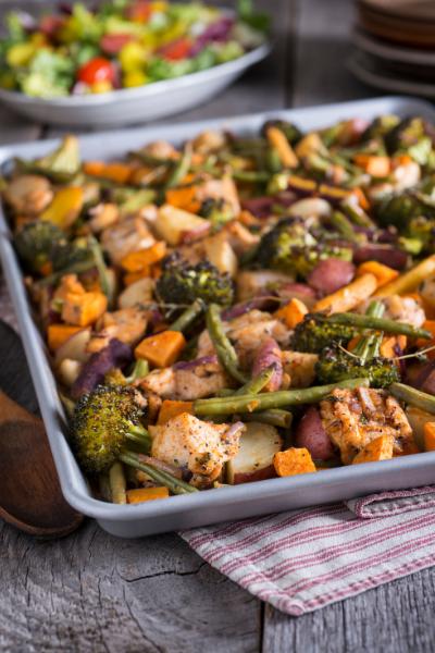 healthy sheet pan dinner ideas